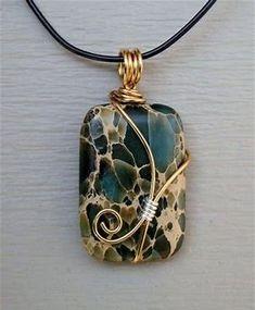 Image result for Tutorial Wire Wrapping Stones
