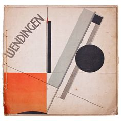 Wendingen, Issue 11, Cover by El Lissitzky, 1921 | From a unique collection of antique and modern prints at https://www.1stdibs.com/furniture/wall-decorations/prints/