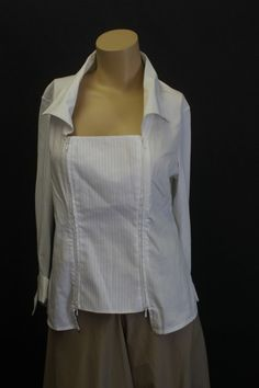 Anne Fontaine Top - 42 $49, Any Fontaine blouse is heavenly.
