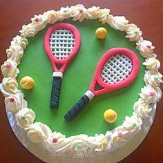 tarta tenis fondant