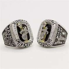 Custom 2012 Miami Heat National Basketball World Championship Ring - Basketball