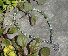 Love the Greens in this Anklet...