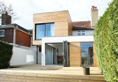 idée pour agrandir sa maison et extension en bois