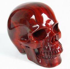 S/M Kitty skull mask with ears and movable by HighNoonCreations Skull Decor, Skull Art, Crane, Memento Mori, Skeleton Art, Skeleton Bones, Crystals And Gemstones, Crystals Minerals, Red Jasper