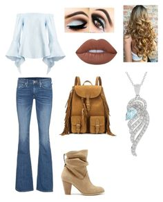 """""""Untitled #307"""" by darkfire9 on Polyvore featuring True Religion, Sole Society, Lime Crime and Yves Saint Laurent"""