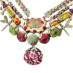 Fabulous Ayala Bar Necklace from the Dragonfly Collection