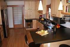 On this page you can find home kitchen remodeling designs that can suit your taste and your needs if you ever thought of remodeling your kitchen in Berkeley or in the surrounding area. Kitchen Remodeling, Home Kitchens, Table, Design, Furniture, Ideas, Home Decor, Decoration Home, Room Decor