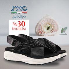 💟IMAC Hakiki deri konfor taban sandaletler %30 indirimle web sitemizde. Annenize yazın rahat edeceği şık bir sandalet hediye edebilirsiniz.🎁 Mary Janes, Sneakers, Shoes, Style, Fashion, Trainers, Moda, Zapatos, Shoes Outlet