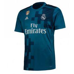 Real Madrid 3 trøje 17-18 Kort ærmer #Billige #Fodboldtrøjer