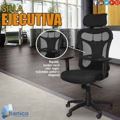 ABANICO te brinda confort y elegancia en sillería para tu oficina. ¡Ven y visítanos! Contáctanos al tel. 2440-1607