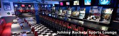 Johnny Rockets Sports Lounge at the Great Escape Lodge Queensbury, NY - One of the country's only Johnny Rockets Sports Lounges with over 22 flat screen TV's Lakeside Dining, The Great Escape, Chamber Of Commerce, Lake George, Great Restaurants, Lounges, Rockets, Cincinnati, Google Images