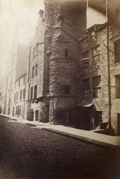 View of Fish Street, Dundee.