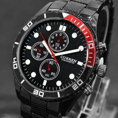 CURREN-font-b-Top-b-font-Brand-font-b-Men-b-font-Sports-font-b-Watches The Best 40 Sport Watches for Men