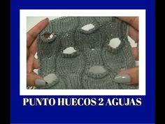 PUNTO HUECOS A 2 AGUJAS-PUNTO ABIERTO