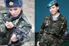 7. Ukraine The Ukrainian Armed Forces arecomposed of about 25% female soldiers, with about 7% serving as officers. There are twelve female colonels, and we're still waiting for a new female general. Because of the low salaryofcontractual military service jobs, most men refuse to join the army which is why44% of the overall countare women.