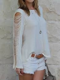 blusa com franjas - Pesquisa Google