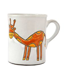 Hrnek žirafa - objem 400 ml Mugs, Tableware, Dinnerware, Tumblers, Tablewares, Mug, Dishes, Place Settings, Cups