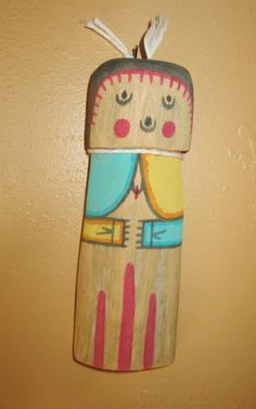 Hopi Flat doll known as the Grandmother by AuthenticNativeMade, $20.00