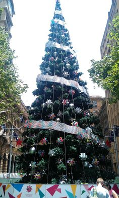 It's beginning to look a lot like Christmas in Martin Place #sydneylove #christmas @buildingworksau