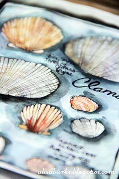 clam shells | Alisa Burke | Flickr