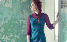 Create this simple dress that will ring the changes when made in different materials.