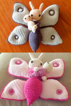 Crochet your own amigurumi flower dolls. Easy crochet patterns, well explained with photos and texts. Flower dolls are fun to crochet. Weaving Patterns, Crochet Patterns Amigurumi, Crochet Dolls, Doll Patterns, Knitting Patterns, Borboleta Crochet, Crochet Butterfly Pattern, Crochet Beach Bags, Crochet Dragon