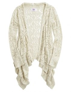 Shop Crochet Waterfall Cardigan and other trendy girls tops clothes at Justice. Find the cutest girls clothes to make a statement today.