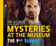 Mysteries at the Museum on Travel Channel...love this show.