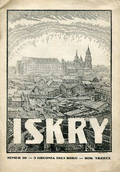 Iskry No. 50, 5.12.1925 Y. III Cover by Alfons Karny