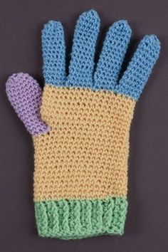 Learn how easy it is to crochet gloves. Basic Glove Recipe - Crochet Me