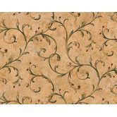 Found it at AllModern - Lodge Décor Scroll Berry Trail Wallpaper