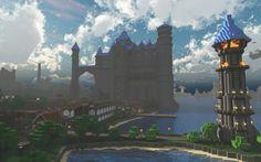 Epic Minecraft fantasy Castle's For Inspiration 5