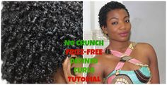 How to define your curls with no crunch from gel! :)