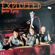The Exploited - Horror Epics LP