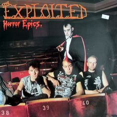 The Exploited - Horror Epics LP Love this album.
