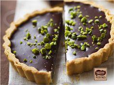 Tartaletas de Chocolate y trocitos de Pistachos