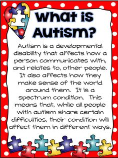 National Autism Awareness Month ~ A Traveled Teacher