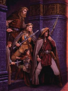 Spearman and friends in a dungeon