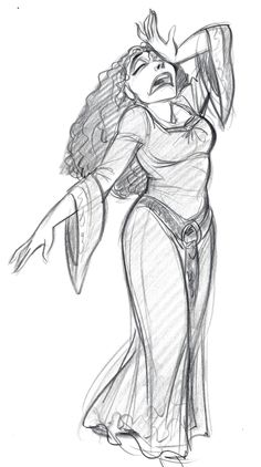 """Mother Gothel in""""Tangled"""""""