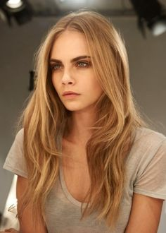 Top 100 Long Hairstyles 2014 for Women | herinterest.com Cara Delevingne layered hair