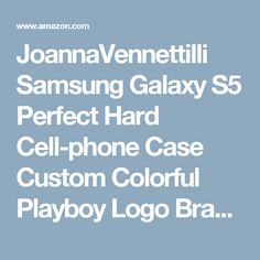 JoannaVennettilli Samsung Galaxy S5 Perfect Hard Cell-phone Case Custom Colorful Playboy Logo Brand Advertising Series [veH25359nYKI]