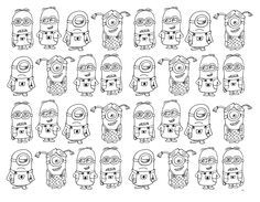 Free coloring page coloring-very-numerous-minions. Very numerous Minions to color Free Coloring Pages, Printable Coloring Pages, Minions Images, To Color, Crafty, Maths, Halloween, Coloring Pages, Free Colouring Pages