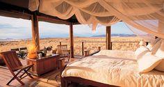 Plus belles vues de chambres d'hôtel dans le monde, ou presque Wolwedans, Namibie
