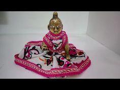 Make no Sew one piece dress/Poshak of Bal Gopal..बिना सिलाई पोशाक कान्हाजी की Summer Special - YouTube