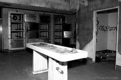Abandoned Kempton Park Hospital - before vandals decided to break it