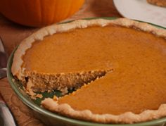 Pumpkin Pie – Just in Time for the Holidays