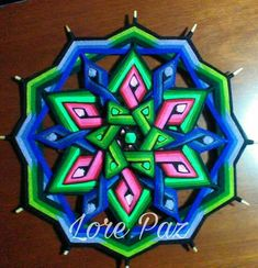 Adult Crafts, Fun Crafts, Diy And Crafts, Arts And Crafts, God's Eye Craft, Sewing Projects, Projects To Try, Gods Eye, Magic Circle