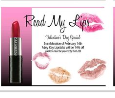 Special for Valentine's Day! Contact me to get your discount :) 2514554081 sierra.quinnie@marykay.com http://www.marykay.com/en-US/TipsAndTrends/Pages/merchandising-pages/Gift-Guide.aspx?cid=mkfb_post020614_giftingvday&stop_mobi=yes