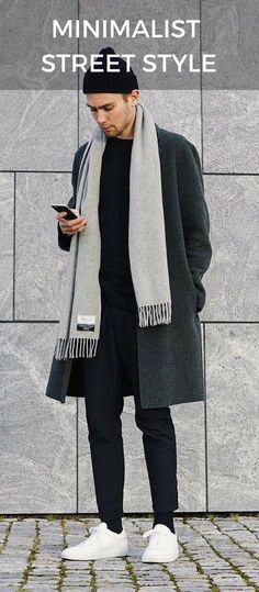 15 Winter Looks For Minimalist #fallfashion #minimalist #mensfashion