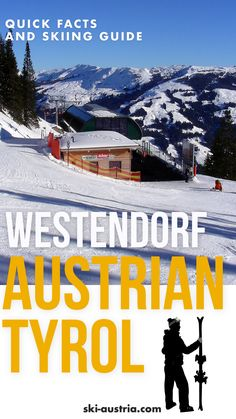 Quick facts & skiing guide to Westendorf in the Austrian Tyrol. Originally popular for its range of cheap pensions and guesthouses, Westendorf has seen a range of top-quality hotels added to its range of accommodation and now attracts all kinds of skier, from families looking for affordable stays to couples looking for the latest in wellness and relaxation. Learn more at our site >>> Ski Austria, Visit Austria, Austrian Ski Resorts, Ski Equipment, Quality Hotel, Top Hotels, Mount Everest, Holland, Skiing
